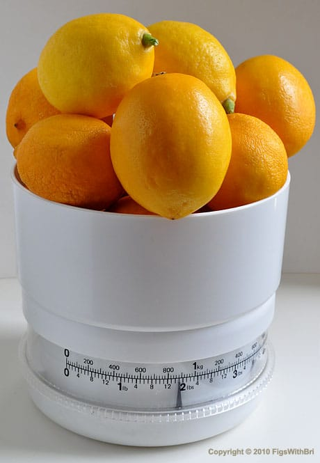 2 lbs of Meyer Lemons from Lemon Ladies Orchard