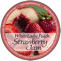 label_for_white_peach_strawberry_jam