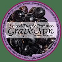 buy spiced purple grape jam